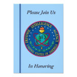 Defence Intelligence Agency Retirement Invitation 13 Cm X 18 Cm Invitation Card
