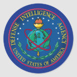 Defence Intelligence Agency Round Sticker