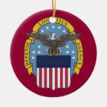 Defence Logistics Agency Custom Christmas Ornament