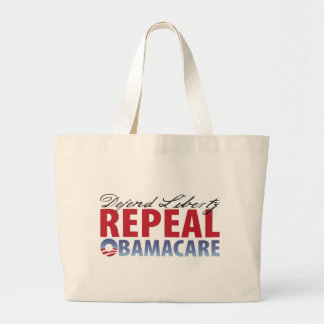 Defend Liberty Repeal Health Care Canvas Bag