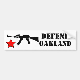 Defend Oakland Sticker