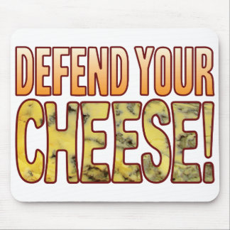 Defend Your Blue Cheese Mouse Mat