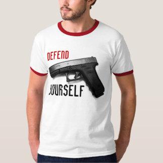 """Defend Yourself"" Gun Rights shirt"
