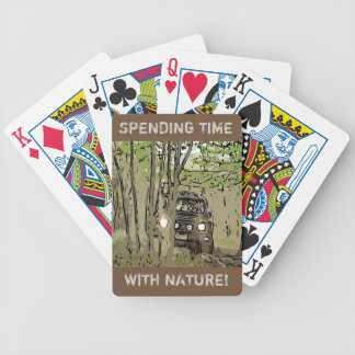 DEFENDER 90 - NATURE BICYCLE PLAYING CARDS