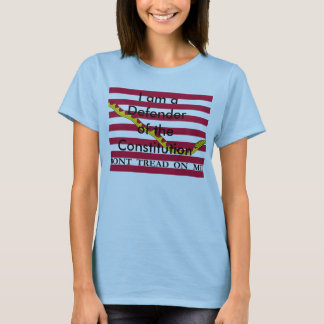Defender of the Constitution woman's t-shirt