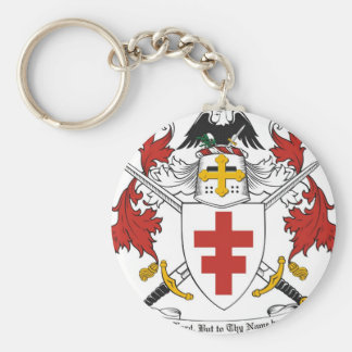 DEFENDER OF THE FAITH  KNIGHTS TEMPLAR EMBLEM BASIC ROUND BUTTON KEY RING