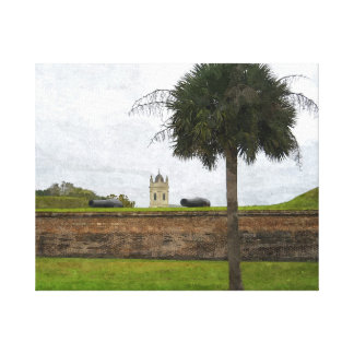 Defender of the Palmetto Canvas Print