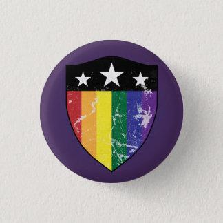 Defender Shield 01 (LGBTQIA) 3 Cm Round Badge