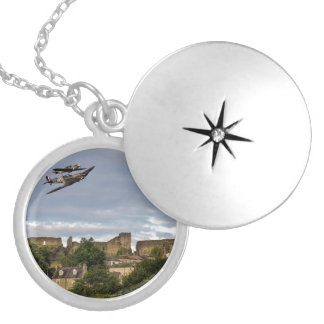 Defenders Of The Town Round Locket Necklace