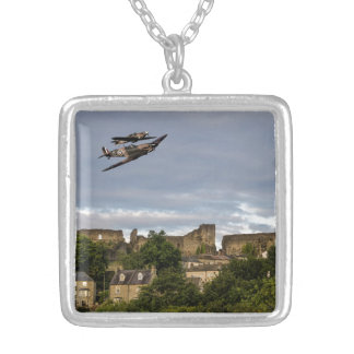 Defenders Of The Town Square Pendant Necklace