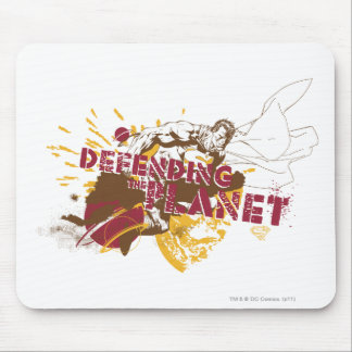 Defending the Planet Mouse Pad