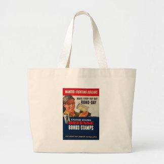 Defense Bonds World War II Bag