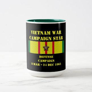 Defense Campaign Two-Tone Mug