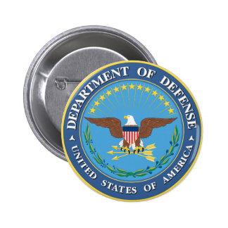 Defense Department 6 Cm Round Badge