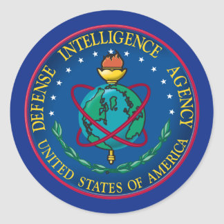 Defense Intelligence Agency Classic Round Sticker