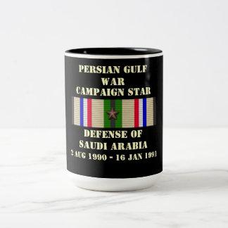 Defense of Saudi Arabia Campaign Two-Tone Mug