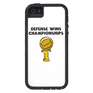 Defense Wins Championships Cover For iPhone 5