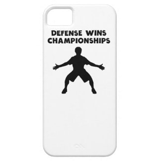 Defense Wins Championships iPhone 5/5S Cover