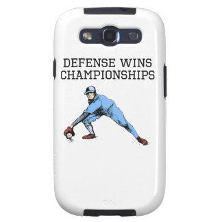 Defense Wins Championships Samsung Galaxy SIII Cases