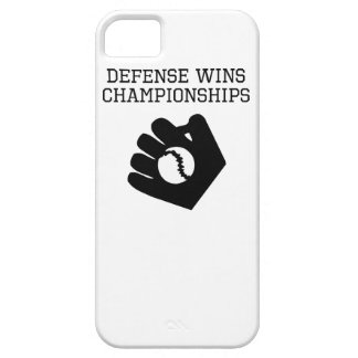 Defense Wins Championships iPhone 5 Cases