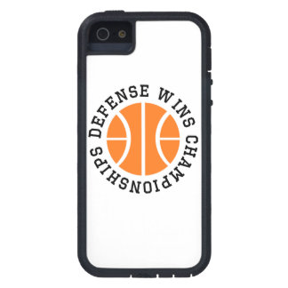 Defense Wins Championships iPhone 5 Case