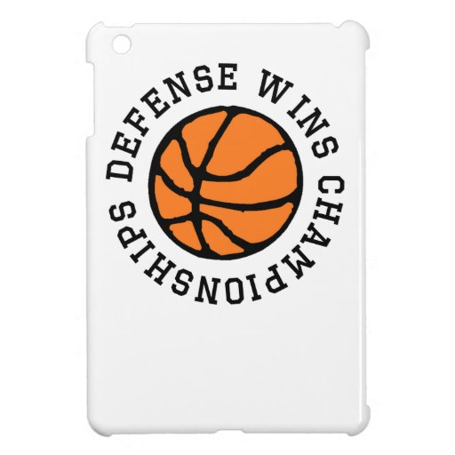 Defense Wins Championships iPad Mini Case