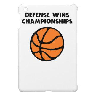 Defense Wins Championships iPad Mini Cover