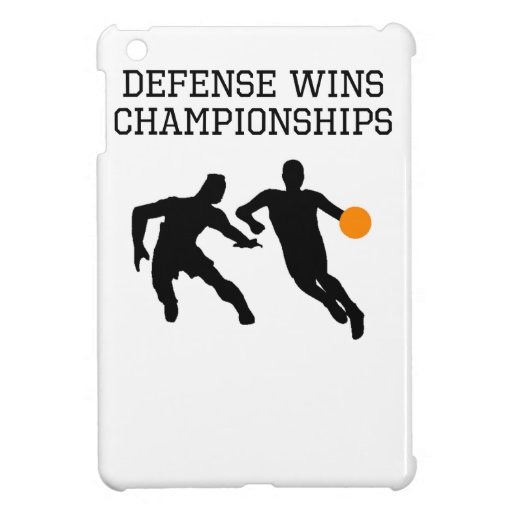 Defense Wins Championships Cover For The iPad Mini