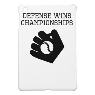 Defense Wins Championships iPad Mini Covers