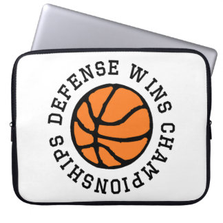 Defense Wins Championships Computer Sleeves