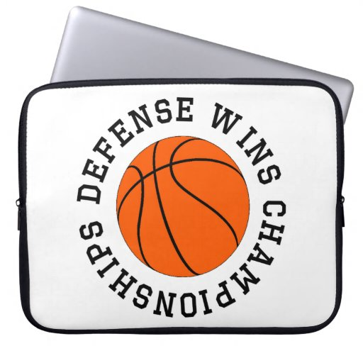Defense Wins Championships Laptop Sleeve