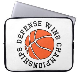 Defense Wins Championships Laptop Computer Sleeve