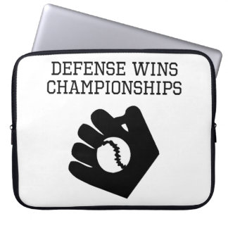 Defense Wins Championships Laptop Computer Sleeves