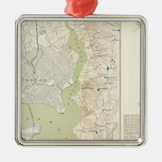 Defenses Washington Christmas Ornament