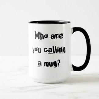 Defensive mug