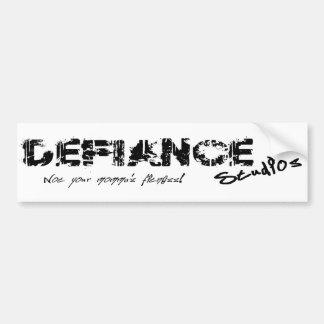 Defiance Studios Logo Bumper Sticker
