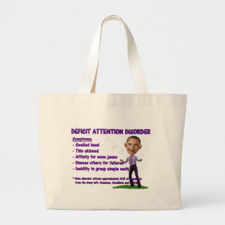 Deficit Attention Disorder Canvas Bag