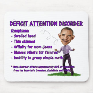 Deficit Attention Disorder Mouse Pad