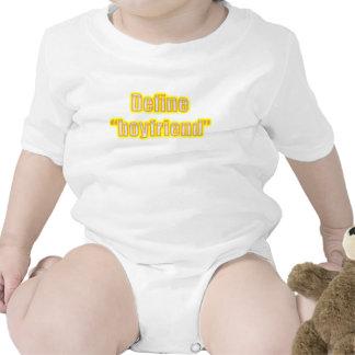 Define Boyfriend Yellow Funny Relationship Designs Shirts