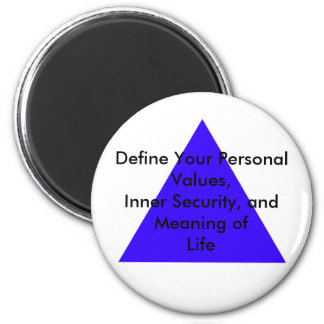 Define Your Personal Values, Inner Security Gifts Magnet