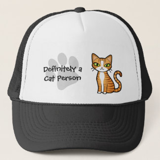 Definitely a Cat Person (design your own cat) Trucker Hat