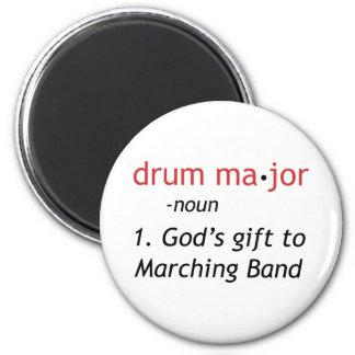 Definition of a Drum Major Fridge Magnet