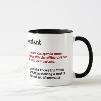 Definition of Accountant - Alternative and Funny Mug