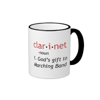 Definition of Clarinet Mugs