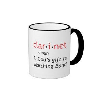 Definition of Clarinet Mugs
