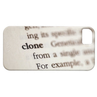 Definition of clone barely there iPhone 5 case