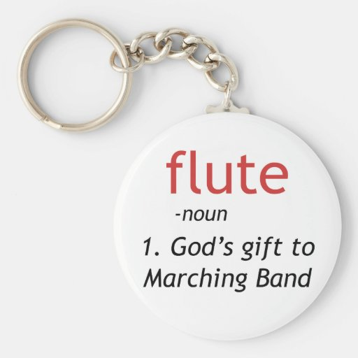 Definition of Flute Key Chain