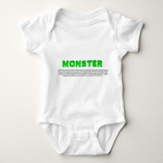 DEFINTION OF MONSTER BABY BODYSUIT
