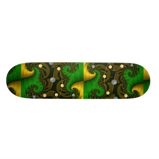 Deflection and decomposition photo skateboard