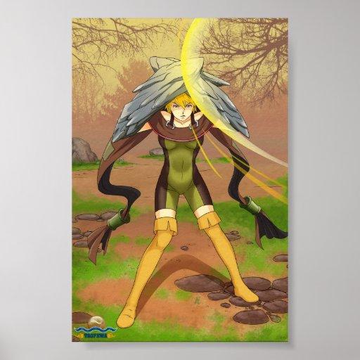 Deflection - TAOFEWA Manga / Anime Poster